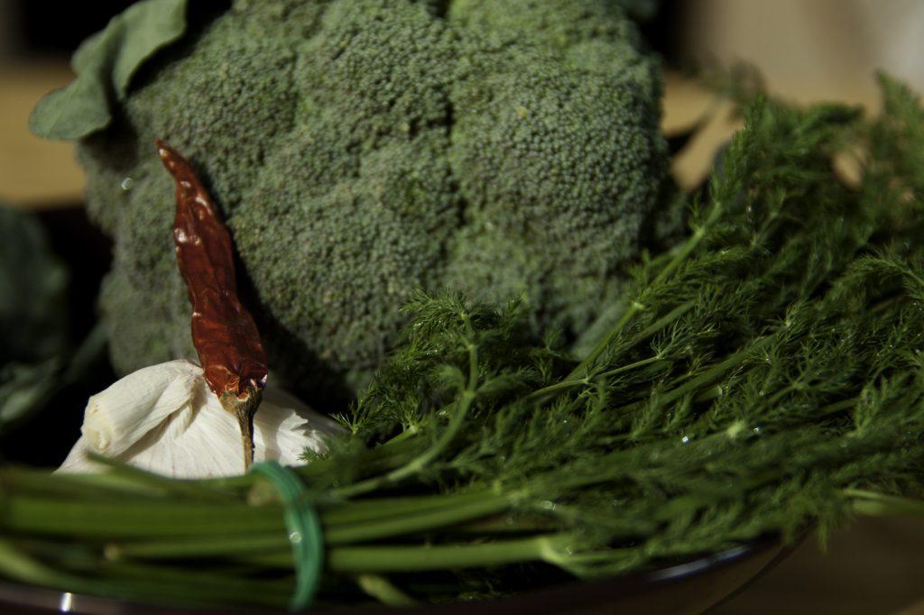 tortiglioni con broccoli e luganega