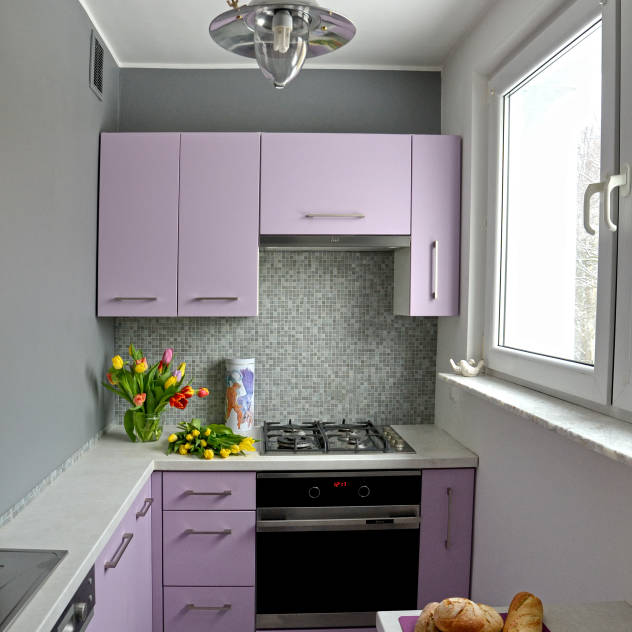 Una piccola cucina per cucinare alla grande - Come progettare una cucina ad angolo ...