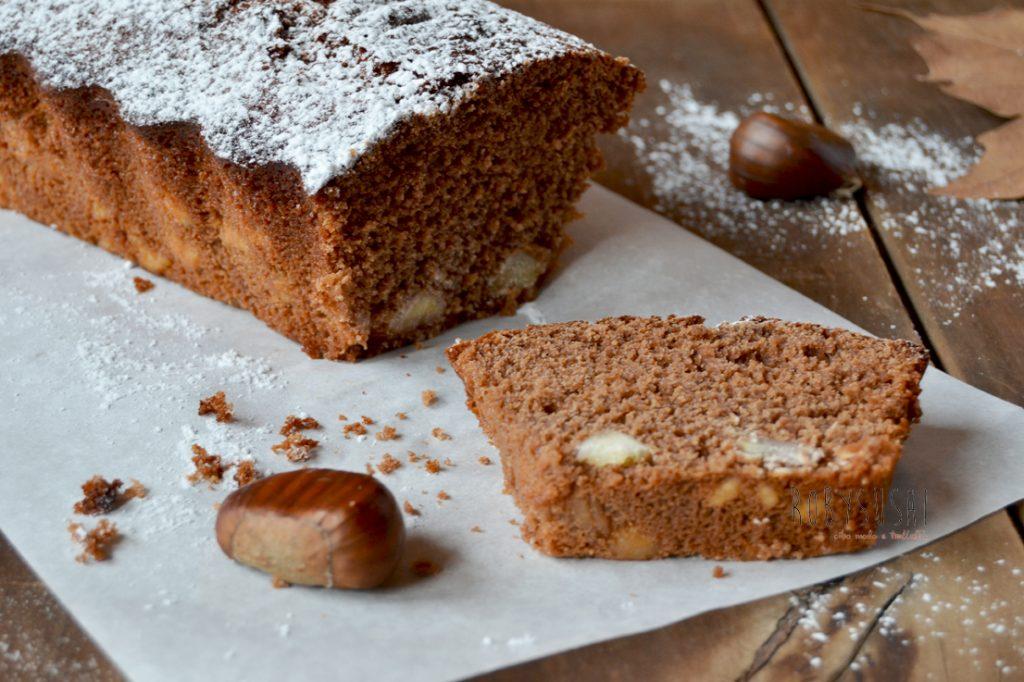 Plumcake al cioccolato e castagne