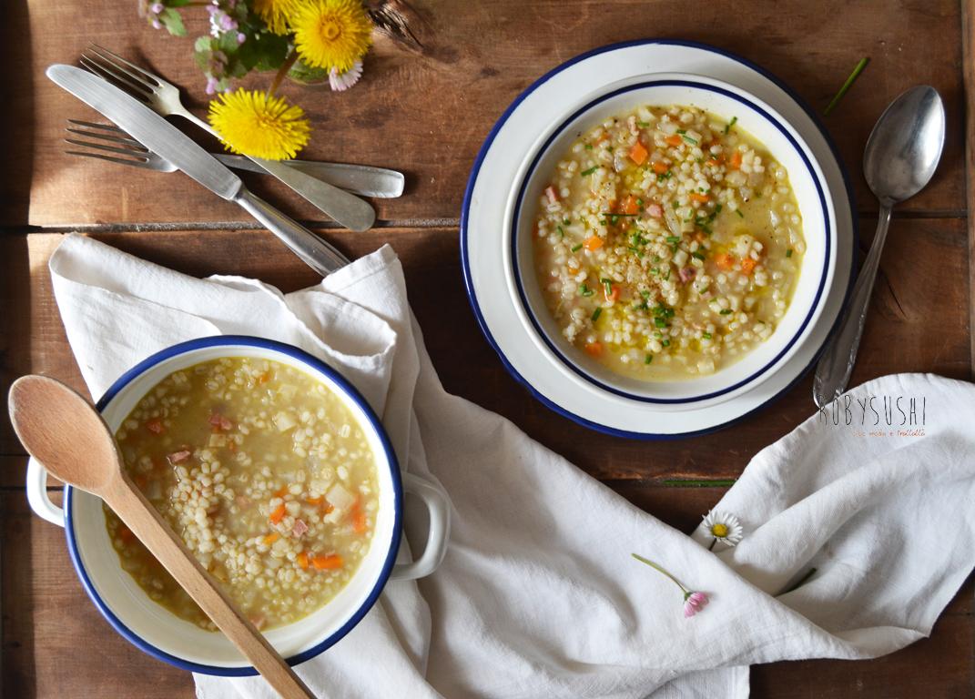 zuppa di orzo daikon e sedano rapa (8)