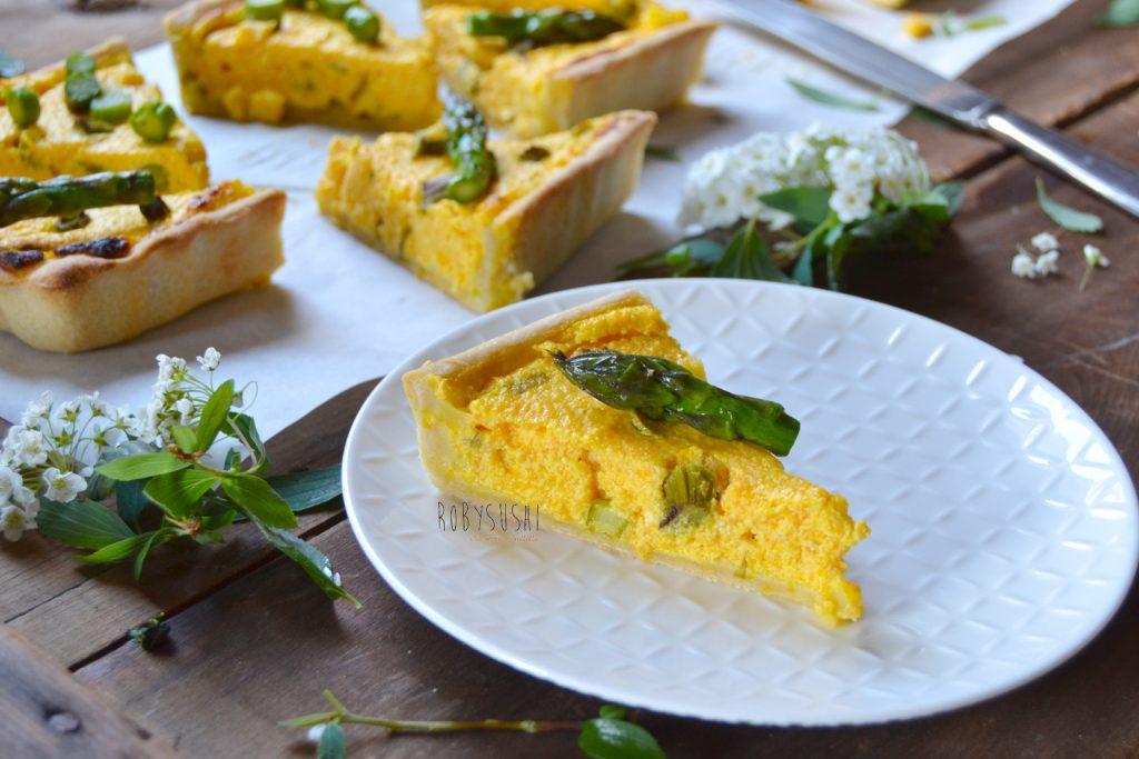 Torta rustica asparagi e carote (10)