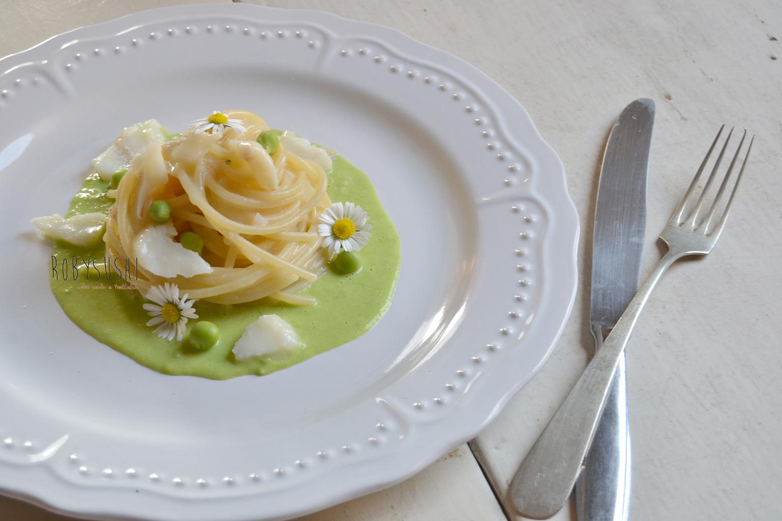 spaghetti ajo e ojo con baccalà (1)
