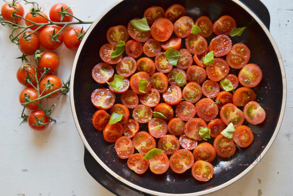 Tarte tatin salata