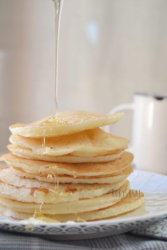 Pancakes senza lattosio e senza glutine