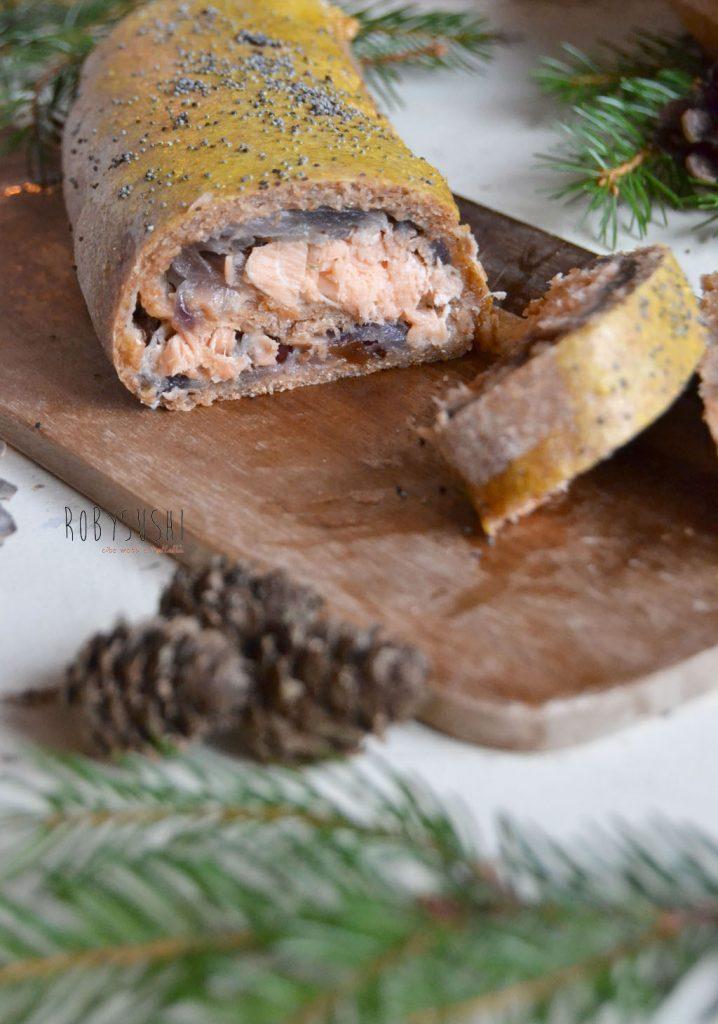 strudel di salmone