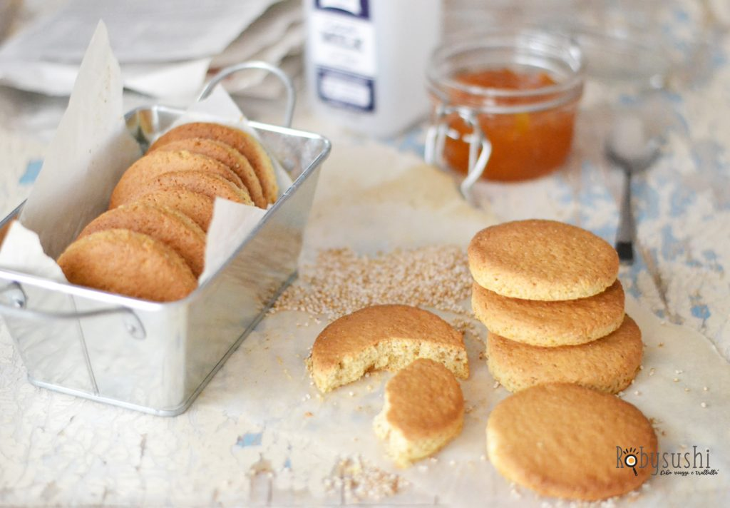 biscotti all'amaranto