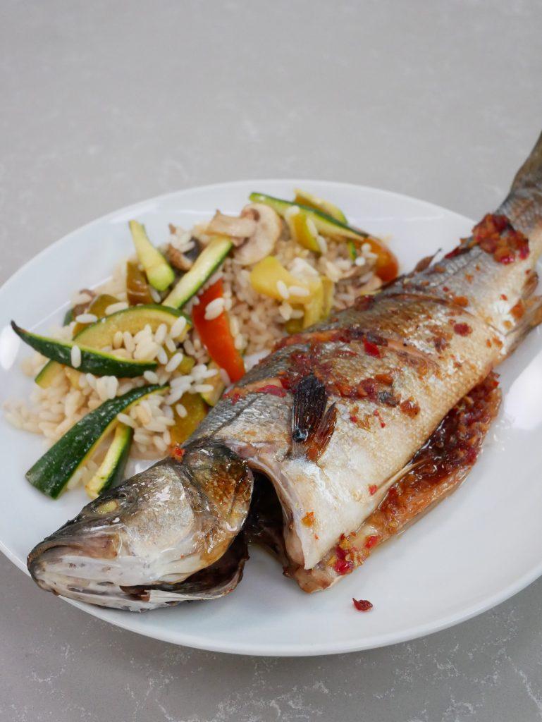 pesce marinato alla coreana