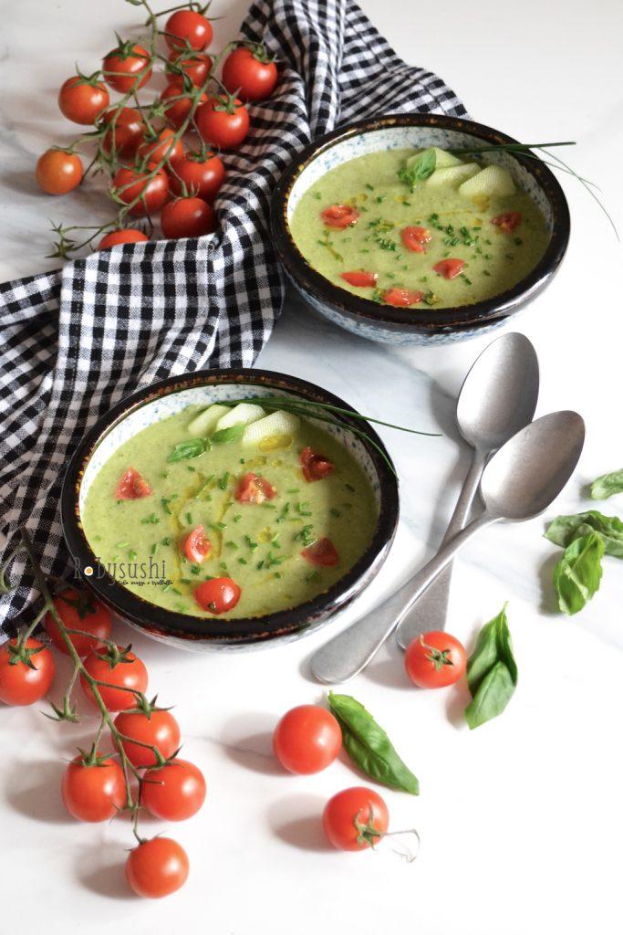 vellutata estiva di zucchine