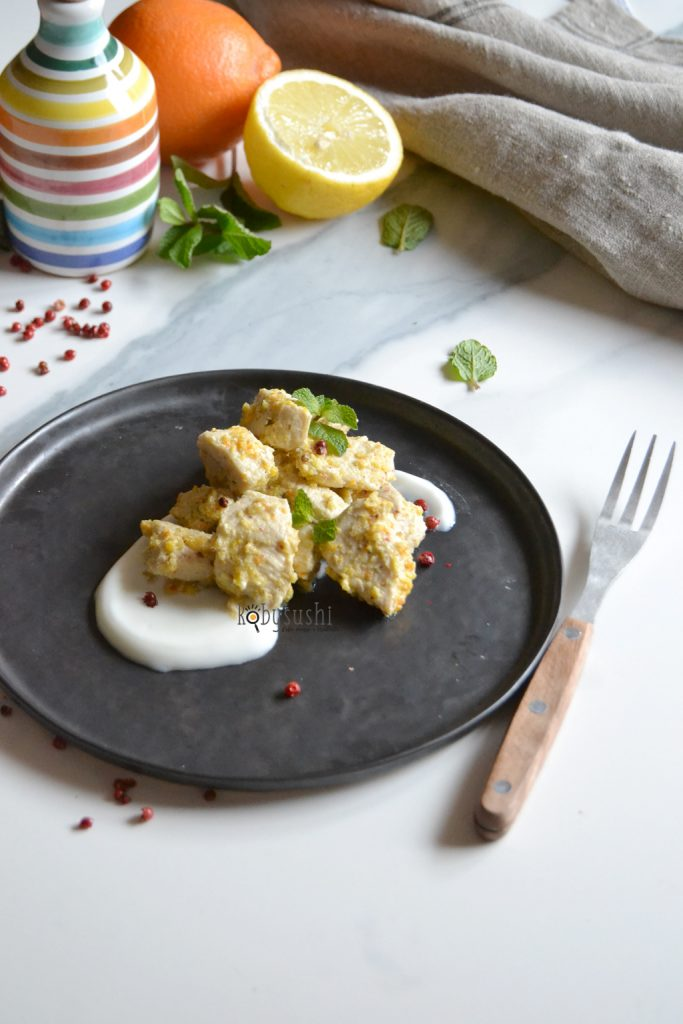 pollo marinato allo yogurt