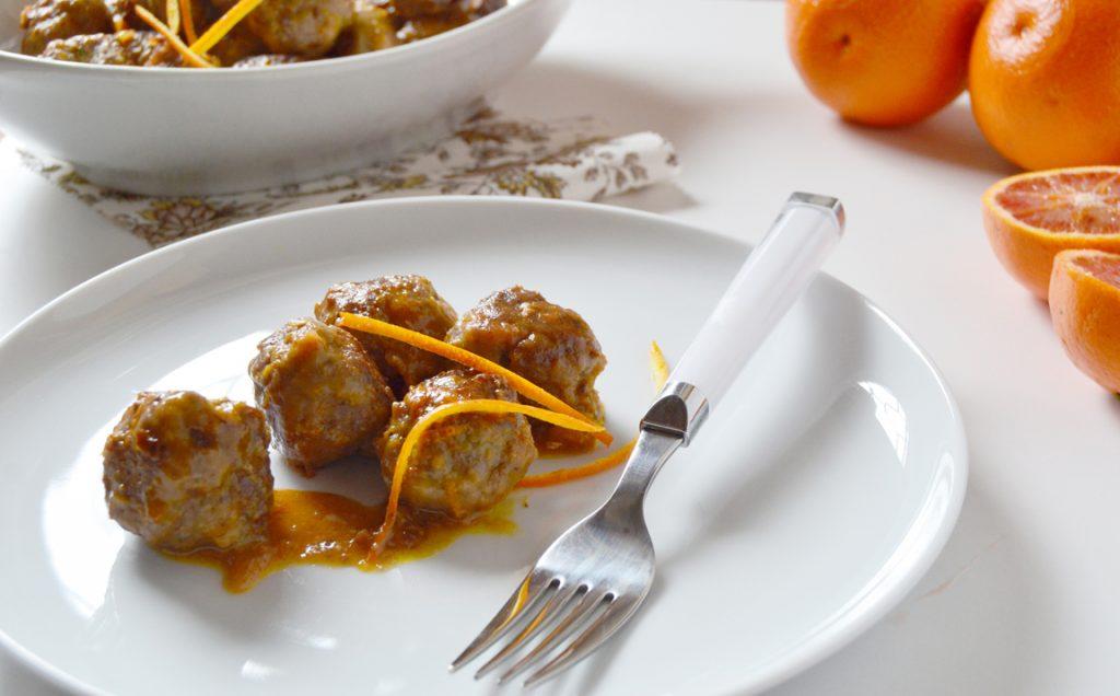 Polpette di carne all'arancia