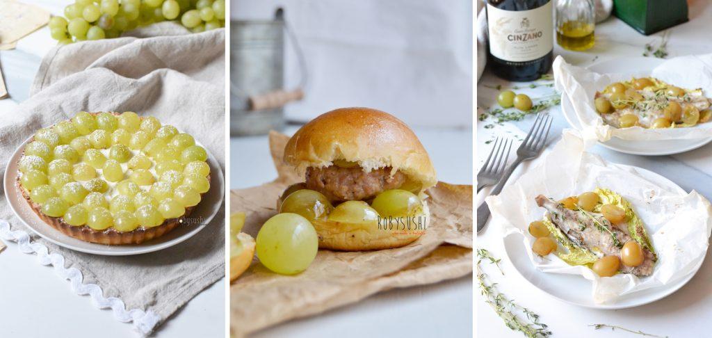 ricette a base di uva