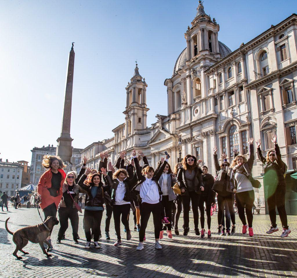 Camminare tra le bellezze di Roma