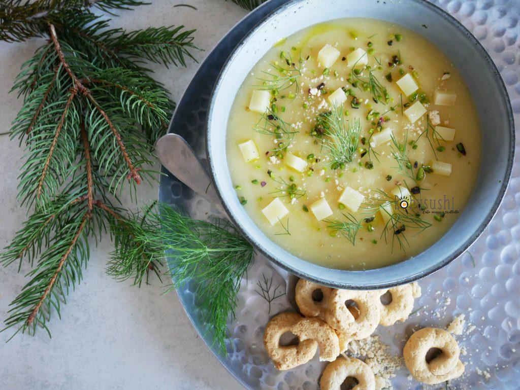 crema di porro e patate